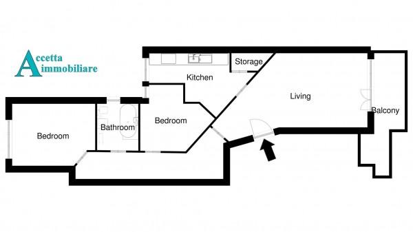 Appartamento in vendita a Taranto, Borgo, 78 mq - Foto 2