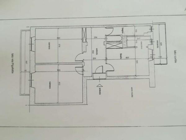 Appartamento in vendita a Torino, Crocetta, San Secondo, 82 mq