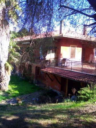 Villa in vendita a Roma, Casale San Nicola, Con giardino, 400 mq