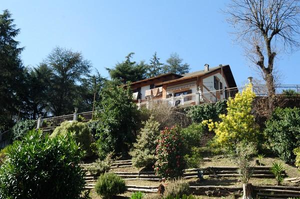 Villa in vendita a Genova, Cesino, Con giardino, 400 mq