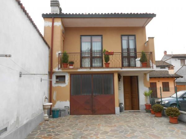 Casa indipendente in vendita a Trescore Cremasco, Centro, Con giardino, 227 mq