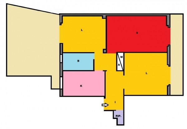 Appartamento in vendita a Roma, Casilina, 100 mq - Foto 2