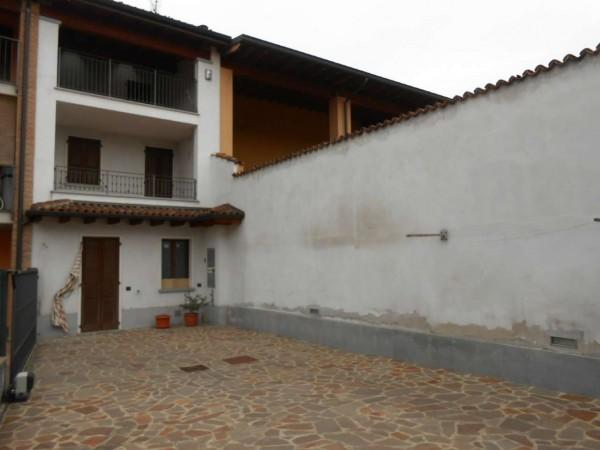 Casa indipendente in vendita a Trescore Cremasco, Centro, Con giardino, 149 mq
