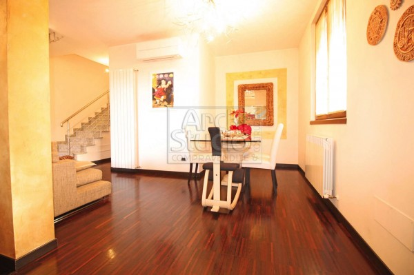 Villa in vendita a Cassano d'Adda, Cristo Risorto, Con giardino, 213 mq - Foto 16
