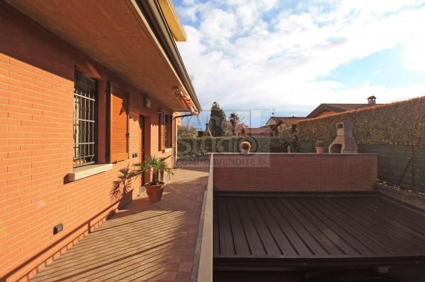 Villa in vendita a Cassano d'Adda, Cristo Risorto, Con giardino, 213 mq - Foto 9