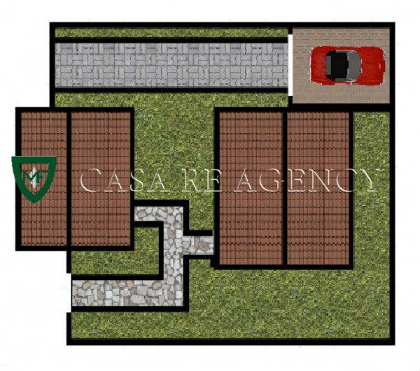 Villa in vendita a Varese, La Rasa, Con giardino, 160 mq - Foto 4