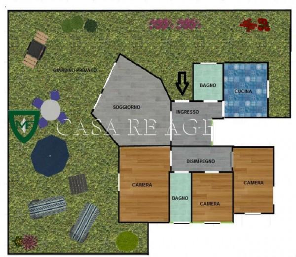 Appartamento in vendita a Varese, San Fermo, Con giardino, 150 mq - Foto 2