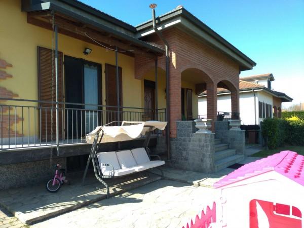 Villa in vendita a Alessandria, Casalbagliano, Con giardino, 360 mq