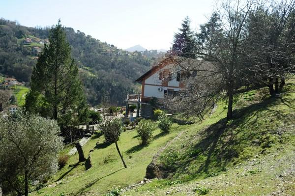 Villa in vendita a Genova, Con giardino, 380 mq