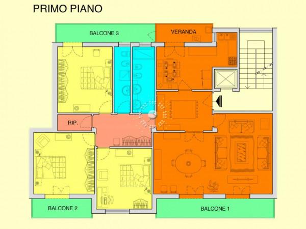 Appartamento in vendita a Firenze, 155 mq