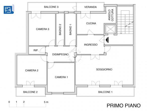 Appartamento in vendita a Firenze, 155 mq - Foto 2