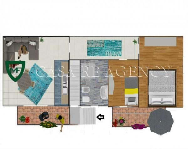 Appartamento in vendita a Induno Olona, Via, Con giardino, 94 mq - Foto 2