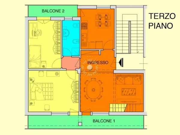 Appartamento in vendita a Bagno a Ripoli, 90 mq