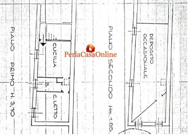 Appartamento in vendita a Meldola, Centro Storico, Con giardino, 50 mq - Foto 3