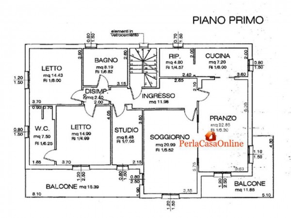 Villa in vendita a Forlì, Con giardino, 390 mq - Foto 3