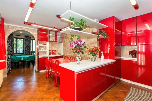 Villa in vendita a Torino, Con giardino, 450 mq