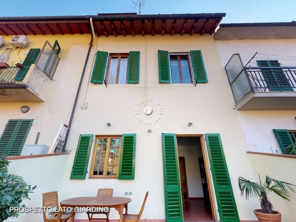 Villetta a schiera in vendita a Firenze, Con giardino, 173 mq - Foto 37