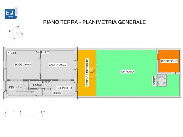 Villetta a schiera in vendita a Firenze, Con giardino, 173 mq - Foto 2