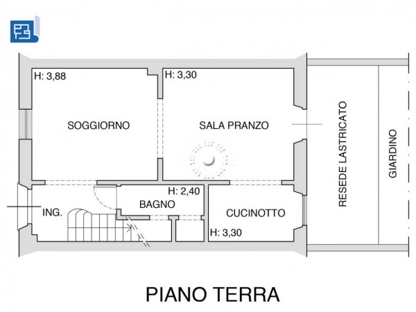Villetta a schiera in vendita a Firenze, Con giardino, 173 mq - Foto 5