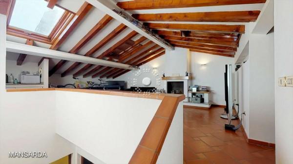 Villetta a schiera in vendita a Firenze, Con giardino, 173 mq - Foto 43