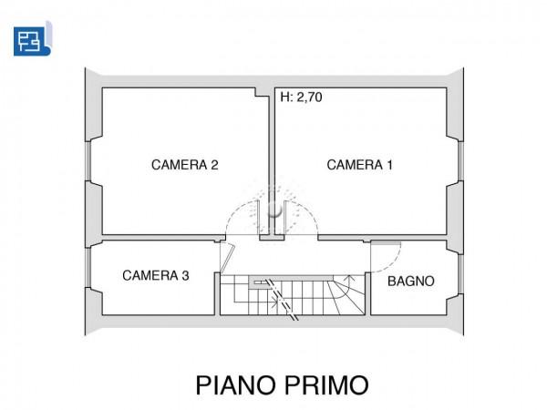 Villetta a schiera in vendita a Firenze, Con giardino, 173 mq - Foto 4