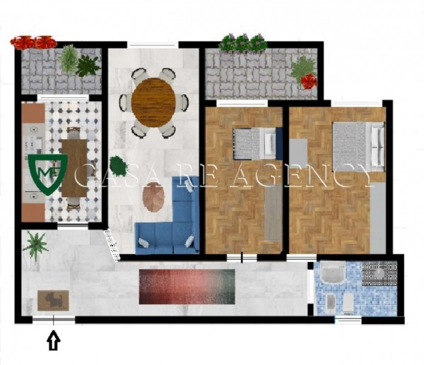 Appartamento in vendita a Varese, Ippodromo, 120 mq - Foto 2