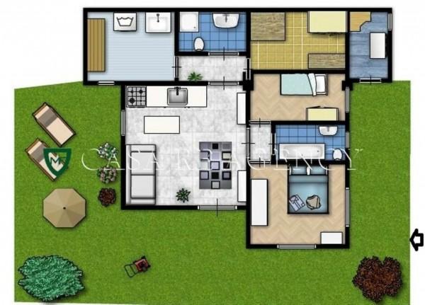 Appartamento in vendita a Induno Olona, Centro, Con giardino, 90 mq - Foto 2
