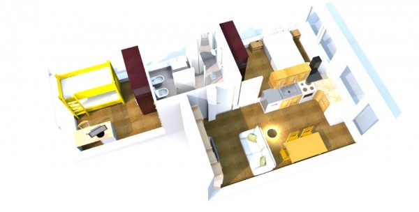 Appartamento in vendita a Milano, Metro Primaticcio, 65 mq