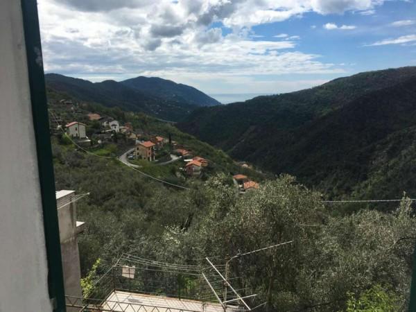 Casa indipendente in vendita a Avegno, Con giardino, 100 mq
