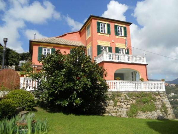 Villa in vendita a Santa Margherita Ligure, Prima Collina, Con giardino, 340 mq