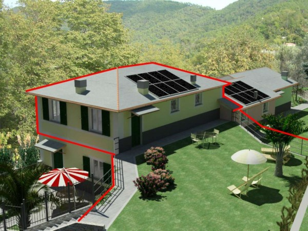 Appartamento in vendita a Rapallo, S.maria, Con giardino, 80 mq