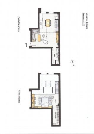 Appartamento in vendita a Bologna, Marconi Lame, 74 mq