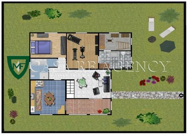 Villa in vendita a Induno Olona, Con giardino, 240 mq - Foto 2