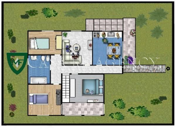 Villa in vendita a Induno Olona, Con giardino, 240 mq - Foto 3