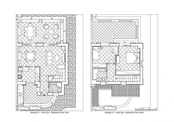 Villetta a schiera in affitto a Formello, Le Rughe, Con giardino, 120 mq - Foto 14