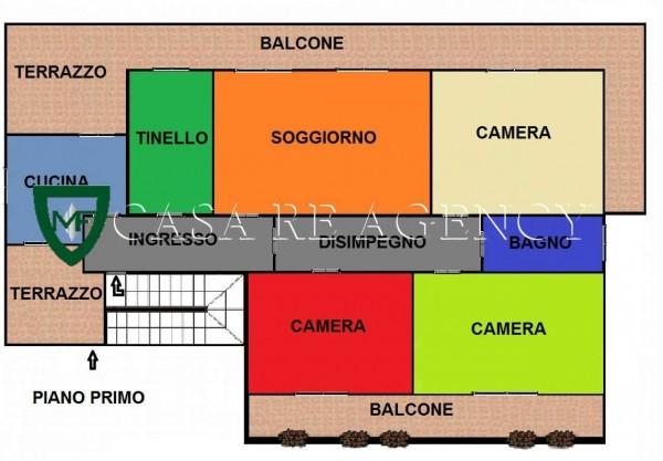 Villa in vendita a Induno Olona, Con giardino, 265 mq - Foto 3