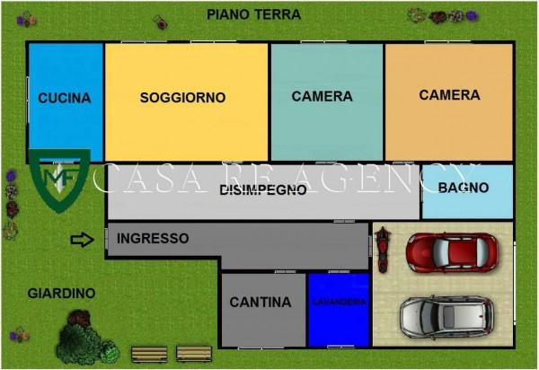Villa in vendita a Induno Olona, Con giardino, 265 mq - Foto 2