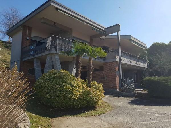 Villa in vendita a Brebbia, Con giardino, 316 mq - Foto 13