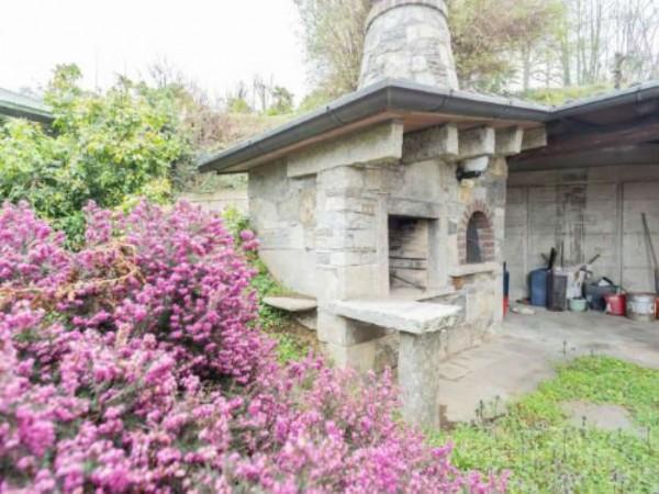 Villa in vendita a Brebbia, Con giardino, 316 mq - Foto 52
