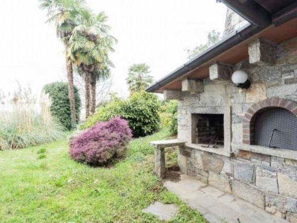Villa in vendita a Brebbia, Con giardino, 316 mq - Foto 54