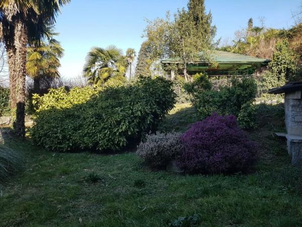 Villa in vendita a Brebbia, Con giardino, 316 mq - Foto 9