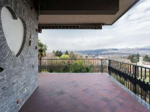 Villa in vendita a Brebbia, Con giardino, 316 mq - Foto 53