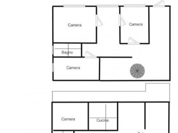 Villa in vendita a Brebbia, Con giardino, 316 mq - Foto 4