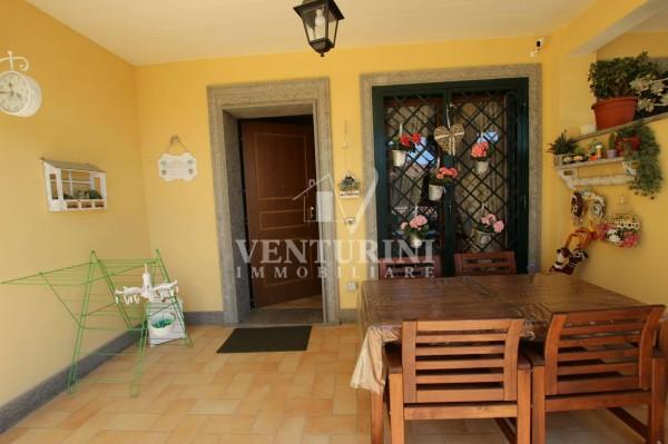 Villetta a schiera in vendita a Roma, Valle Muricana, Con giardino, 115 mq - Foto 6