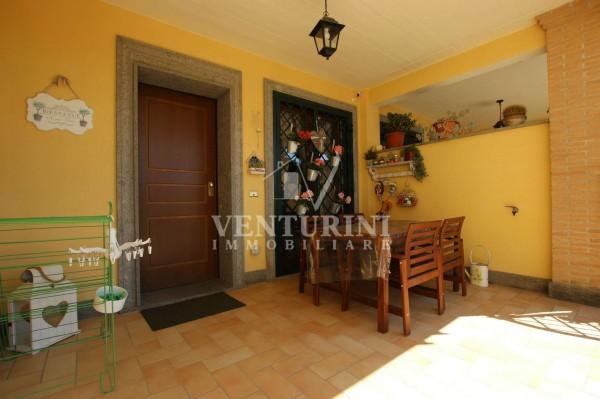 Villetta a schiera in vendita a Roma, Valle Muricana, Con giardino, 115 mq - Foto 4