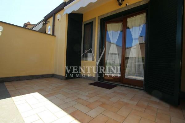Villetta a schiera in vendita a Roma, Valle Muricana, Con giardino, 115 mq - Foto 9
