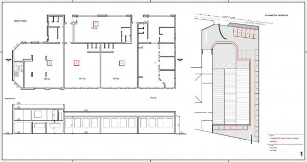 Ufficio in vendita a Madignano, Centro, 135 mq - Foto 2