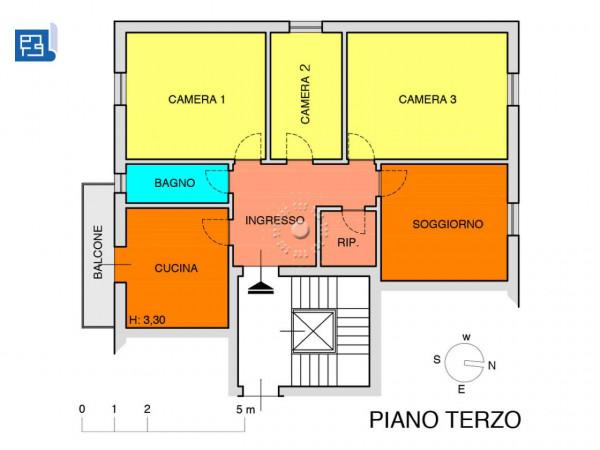 Appartamento in vendita a Firenze, 104 mq - Foto 2