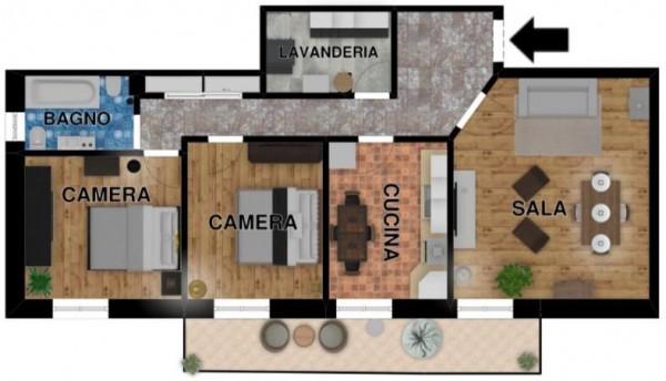 Appartamento in vendita a Chiavari, C, 90 mq