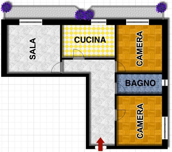 Appartamento in vendita a Lavagna, C, 85 mq